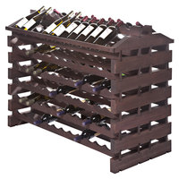 Franmara IF144-S Modularack Pro Island 144 Bottle Stained Wooden Modular Wine Rack