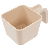 Carlisle 49112-106 12 oz. Beige Polycarbonate Square Portion Scoop