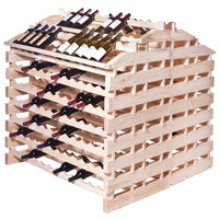 Franmara WFG360-N Modularack Pro Waterfall Gondola 360 Bottle Natural Wooden Modular Wine Rack