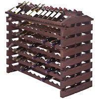 Franmara IF168-S Modularack Pro Island 168 Bottle Stained Wooden Modular Wine Rack