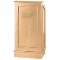 Bon Chef 50230 25 inch x 20 inch x 48 inch Pickled Oak Executive Style Podium
