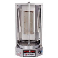 Optimal Automatics 3PGM Autodoner Natural Gas 35 lb. Vertical Broiler