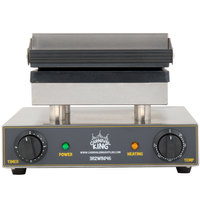 Carnival King WBS46 Brussels Style Belgian Waffle Maker with Timer - 120V