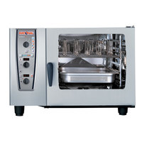Rational CombiMaster Plus Model 62 B629206.19E202 Natural Gas Single Deck Combi Oven with ClimaPlus Technology - 208/240V