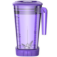 Waring CAC95-10 The Raptor 64 oz. Purple Copolyester Blender Jar