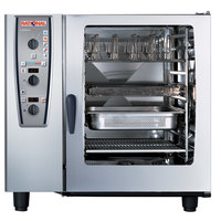 Rational CombiMaster Plus Model 102 B129106.12.202 Single Electric Combi Oven with ClimaPlus Technology - 208/240V, 3 Phase, 37 kW