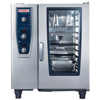 Rational CombiMaster Plus Model 101 B119106.12.202 Single Electric Combi Oven with ClimaPlus Technology - 208/240V, 3 Phase, 19 kW