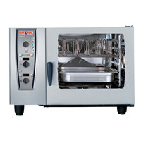 Rational CombiMaster Plus Model 62 B629106.43.202 Single Electric Combi Oven with ClimaPlus Technology - 480V, 3 Phase, 22.5 kW