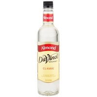 DaVinci Gourmet 750 mL Classic Almond Flavoring Syrup