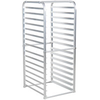 Avantco 178BUNPNFULL 16 Pan Aluminum End Load Sheet / Bun Pan Rack for Reach-Ins - Unassembled