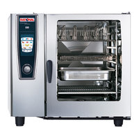 Rational SelfCookingCenter 5 Senses Model 102 B128106.12 Single Electric Combi Oven - 208/240V, 3 Phase, 37 kW