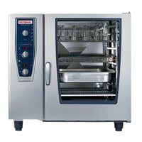 Rational CombiMaster Plus Model 102 B129206.19D202 Liquid Propane Combi Oven with ClimaPlus Technology - 208/240V