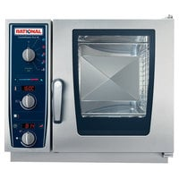 Rational CombiMaster Plus Model XS B609106.19.202 Single Electric Combi Oven with ClimaPlus Technology - 208/240V, 1 Phase