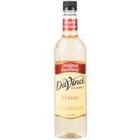 DaVinci Gourmet 750 mL Classic Hazelnut Flavoring Syrup
