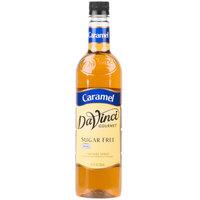 DaVinci Gourmet 750 mL Sugar Free Caramel Flavoring Syrup