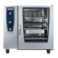 Rational CombiMaster Plus Model 102 B129206.19E202 Natural Gas Single Deck Combi Oven with ClimaPlus Technology - 208/240V