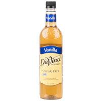 DaVinci Gourmet 750 mL Sugar Free Vanilla Flavoring Syrup