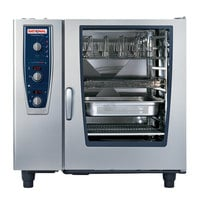 Rational CombiMaster Plus Model 102 B129106.43.202 Single Electric Combi Oven with ClimaPlus Technology - 480V, 3 Phase, 37 kW
