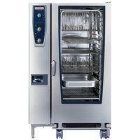 Rational CombiMaster Plus Model 202 B229206.19E202 Natural Gas Single Deck Combi Oven with ClimaPlus Technology - 208/240V