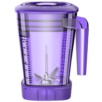 Waring CAC93X-10 The Raptor 48 oz. Purple Copolyester Blender Jar