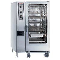 Rational CombiMaster Plus Model 202 B229106.43.202 Single Electric Combi Oven with ClimaPlus Technology - 480V, 3 Phase, 68 kW