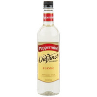 DaVinci Gourmet 750 mL Classic Peppermint Flavoring Syrup