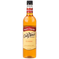 DaVinci Gourmet 750 mL Classic Chipotle Peach Flavoring Syrup