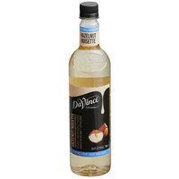 DaVinci Gourmet 750 mL Sugar Free Hazelnut Flavoring Syrup