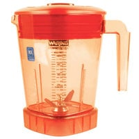 Waring CAC93X-28 The Raptor 48 oz. Orange Copolyester Blender Jar