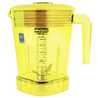 Waring CAC93X-03 The Raptor 48 oz. Yellow Copolyester Blender Jar