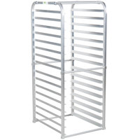 Regency 16 Pan Aluminum End Load Sheet / Bun Pan Rack for Reach-Ins - Unassembled