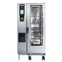 Rational SelfCookingCenter 5 Senses Model 201 B218106.43 Single Electric Combi Oven - 480V, 3 Phase, 37.5 kW