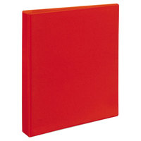 Avery 79170 Red Heavy-Duty View Binder with 1 inch Locking One Touch EZD Rings
