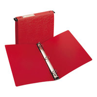 Avery 14803 Red Hanging Storage Non-View Binder with 1 inch Round Rings