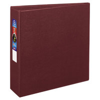 Avery 79363 Maroon Heavy-Duty Non-View Binder with 3 inch Locking One Touch EZD Rings