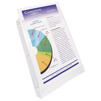 Avery 74102 8 1/2 inch x 11 inch Nonglare Heavyweight Top-Load Sheet Protectors, Letter - 100/Box