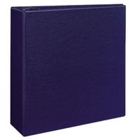 Avery 7800 Blue Durable Non-View Binder with 4 inch Non-Locking One Touch EZD Rings