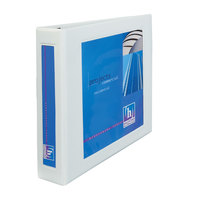 Avery 68036 White Heavy-Duty Framed View Binder with 2 inch Locking One Touch EZD Rings