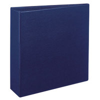 Avery 7700 Blue Durable Non-View Binder with 3 inch Non-Locking One Touch EZD Rings
