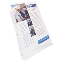 Avery 74130 8 1/2 inch x 11 inch Diamond Clear Super Heavyweight Top-Load Sheet Protector, Letter - 50/Box