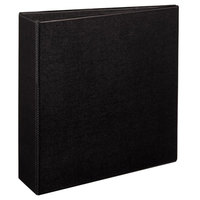 Avery 7701 Black Durable Non-View Binder with 3 inch Non-Locking One Touch EZD Rings