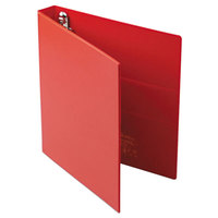 Avery 79589 Red Heavy-Duty Non-View Binder with 1 inch Locking One Touch EZD Rings