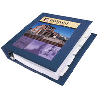Avery 68059 Navy Blue Heavy-Duty Framed View Binder with 1 1/2 inch Locking One Touch EZD Rings