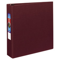 Avery 79362 Maroon Heavy-Duty Non-View Binder with 2 inch Locking One Touch EZD Rings