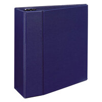 Avery 7900 Blue Durable Non-View Binder with 5 inch Locking One Touch EZD Rings and Thumb Notch