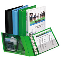 Avery 23030 Green Protect and Store Mini Durable View Binder with 1 inch Round Rings