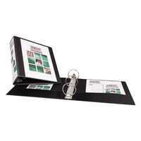 Avery 5740 Black Economy View Binder with 3 inch Round Rings