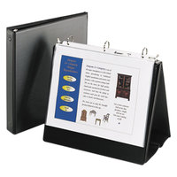 Avery 12880 Black Easel Non-View Binder with 1 inch Round Rings