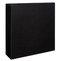 Avery 7801 Black Durable Non-View Binder with 4 inch Non-Locking One Touch EZD Rings