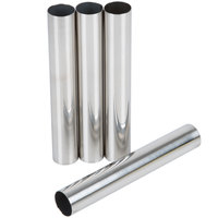 Ateco 660 Stainless Steel 4-Piece Cannoli Form Set